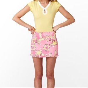 Lilly Pulitzer Callie Skirt Hotty Pink Day